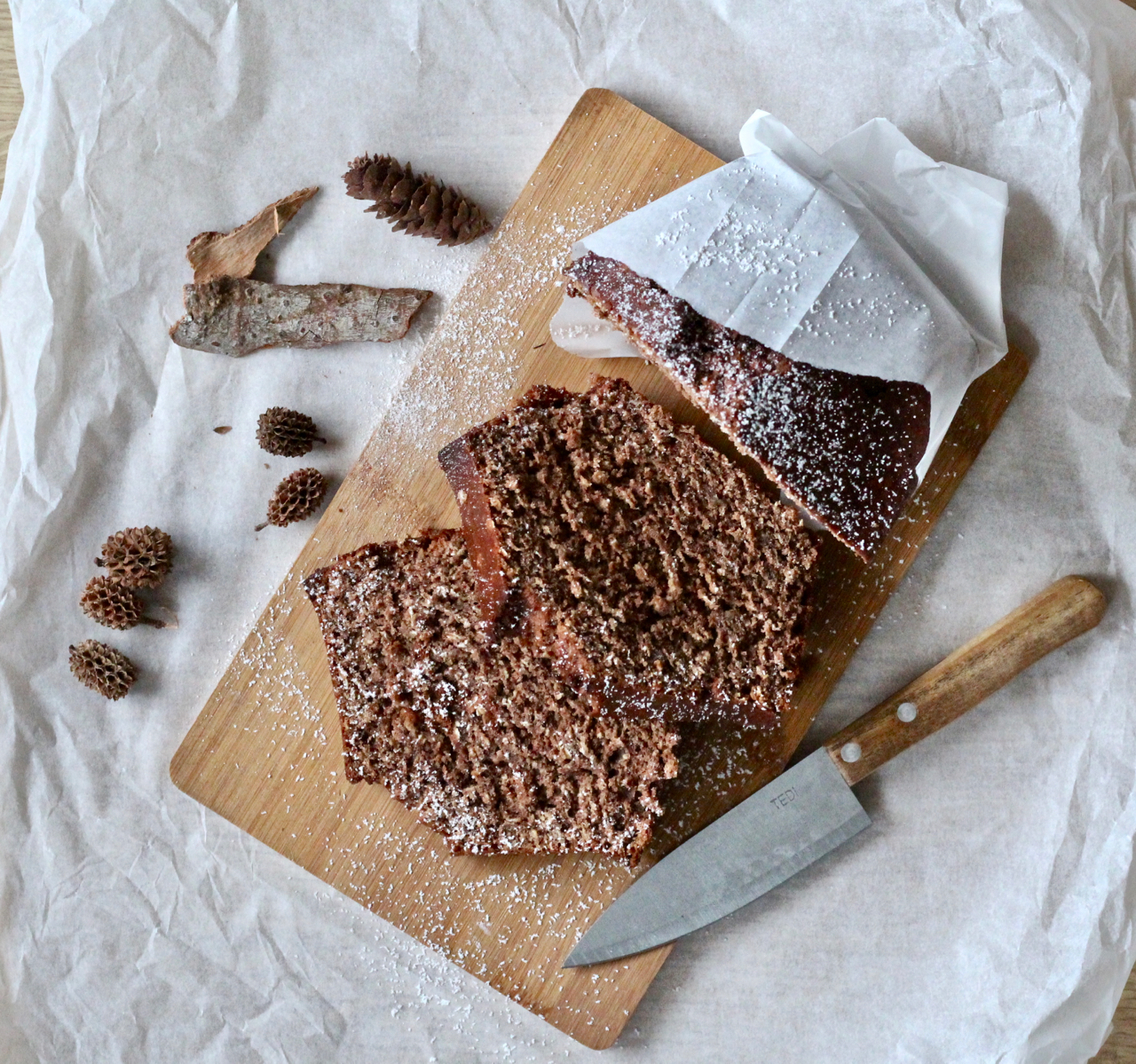 low carb Bananen Brot