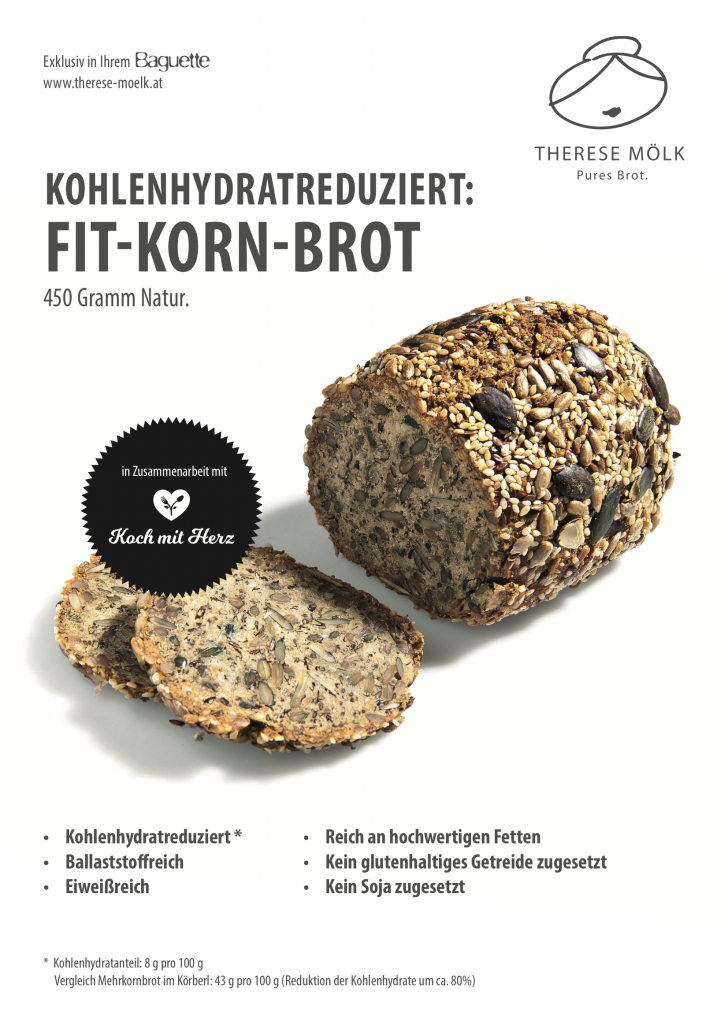 low carb fit korn brot