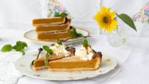 low carb Pumpkin Pie mit Gin
