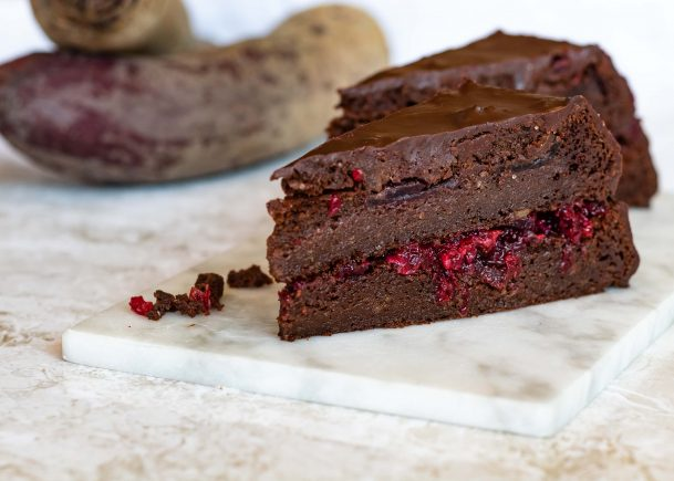 Low carb Rote Bete Sacher Torte