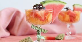 Melonen Sekt Cocktail Mule