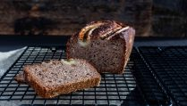 low carb Bananen Brot vegan
