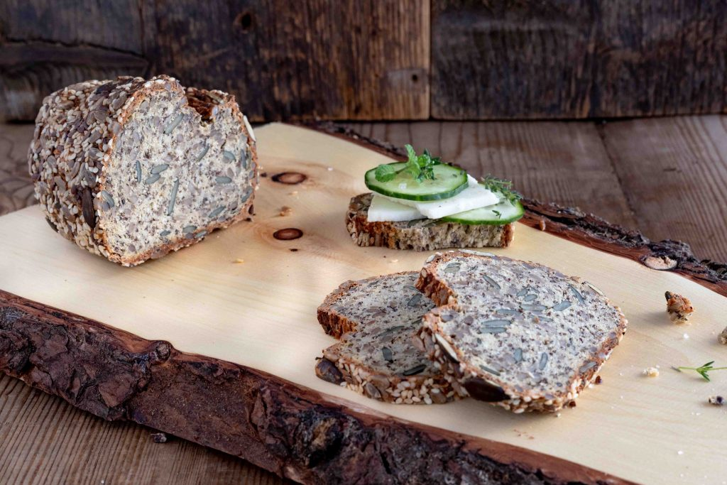 low carb fit korn brot glutenfrei