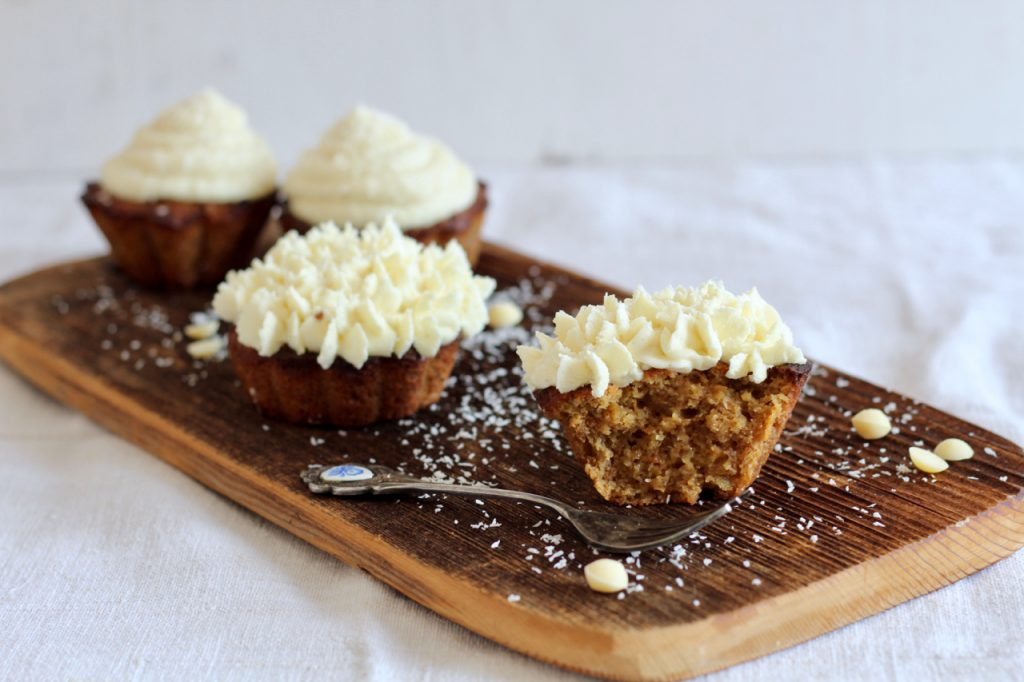 low carb Karotten Cupcakes Muffins