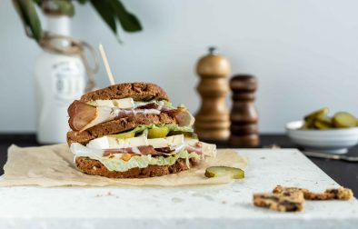 Low carb Sandwich Brot