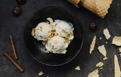 Low carb Cashew Kokos Eis | Nicecream ohne Eismaschine