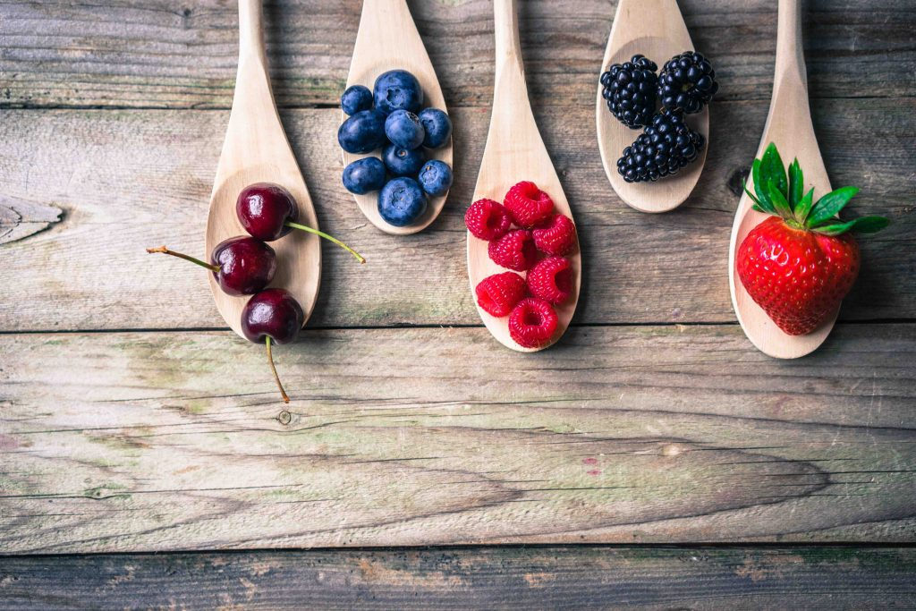 Heimische Beeren Superfood