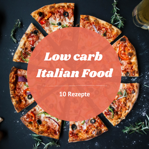 low carb Italian food E-Book