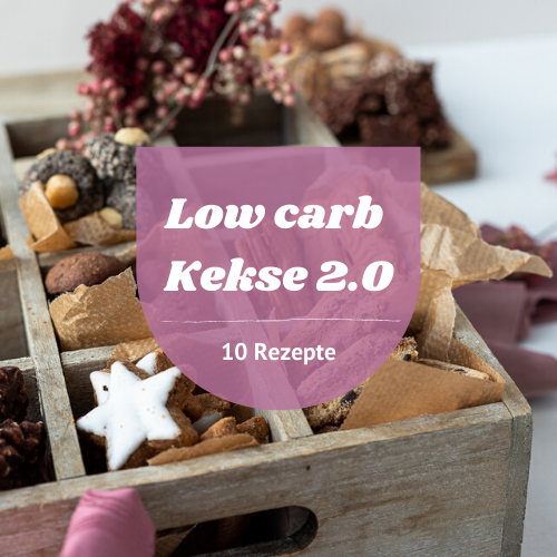 low carb Kekse 2.0 E-Book