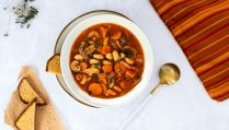 Low carb Minestrone Suppe