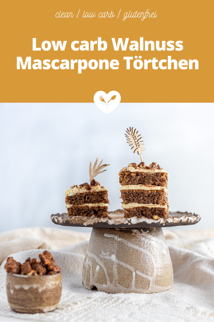 Low carb Walnuss Mascarpone Törtchen