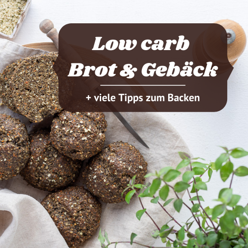 E-Book low carb Brot & Gebäck