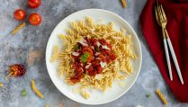 Low carb Pasta Arrabbiata